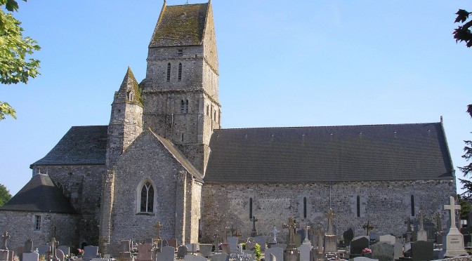Mapping the early church in Western Normandy: AD400-1200