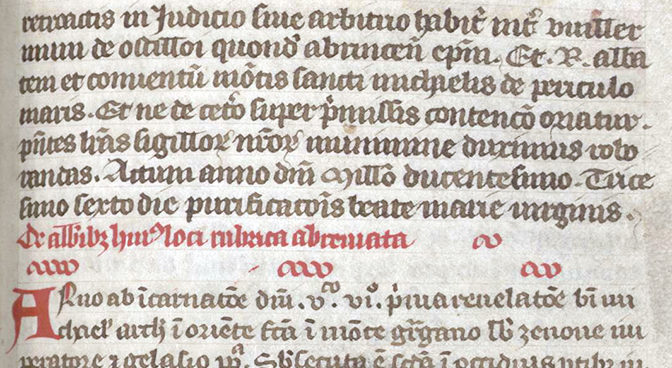 Projet d'édition critique et traduction du <i>De abbatibus</i> (Chronique des abbés du Mont Saint-Michel)