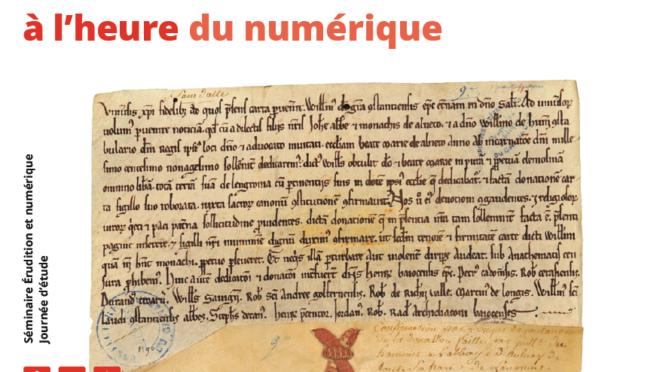 Les sources des mondes normands à l'heure du numérique | Journée d'étude | 16/2/18